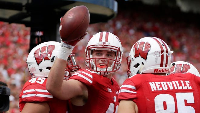 The Badgers are expecting tight end Kyle Penniston to become a major contributor this season.