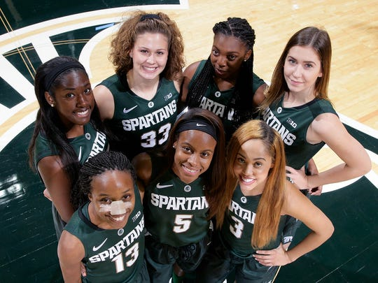 The new faces on the MSU women's basketball team are,