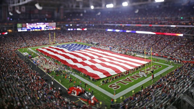 The Arizona Cardinals prepare to host the Minnesota Vikings in their NFL game Thursday, Dec 10, 2015 in Glendale, Ariz.