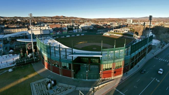 Aces Ballpark, pictured Monday, Jan. 19.