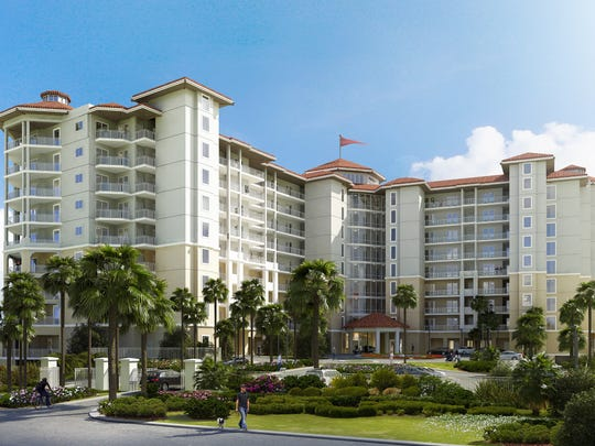 Vista del Mar, a nine-story resort condominium, is being planned for Perdido Key.