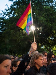 More than 1,000 people participated in a march and