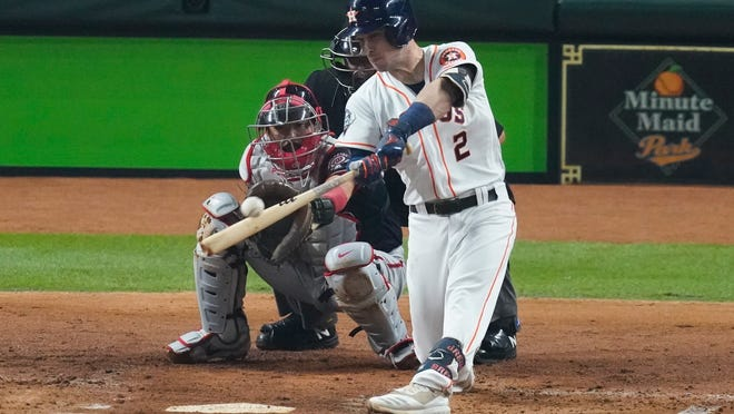 It's hard not to wonder if Houston's Alex Bregman knew what was coming on this pitch, with help from phones and cameras. In which case, he'd have nothing to be proud of.