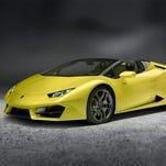 Lamborghini Huracan Spyder: Light, lithe, nimble