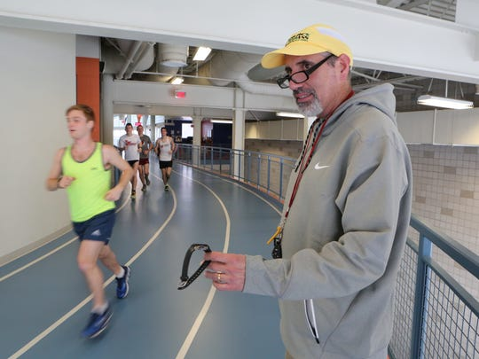 Pete Colaizzo, the track coach at Marist College in