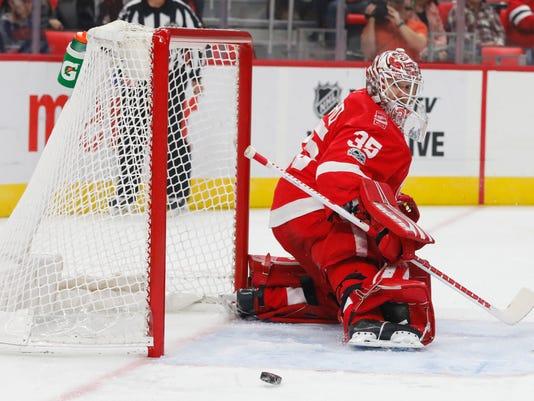 NHL: Arizona Coyotes at Detroit Red Wings