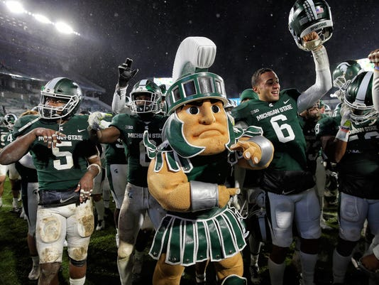 NCAA Football: Maryland at Michigan State
