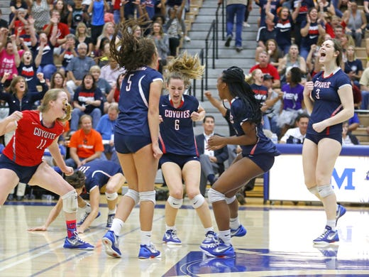 Horizon Honors wins first volleyball state championship