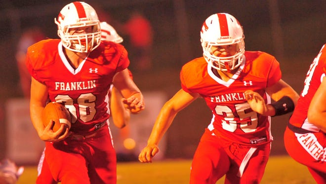 Franklin's Jeremiah Young, left.