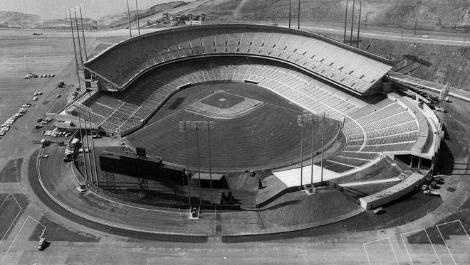 Candlestick Park is shown in San Francisco on April 1, 1960. Candlestick Park, known for its bone-numbing winds, the Catch and the earthquake-rocked 1989 World Series is officially closing after more than a half century of hosting sporting and cultural events. In a bow to historical symmetry, the Stick's finale will be a performance Thursday by Paul McCartney, 48 years after the Beatles' last scheduled concert lit up the venue.