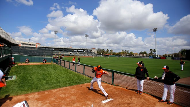 Zach Britton enters 2015 in a spot he didn't expect - entrenched as the Orioles closer.