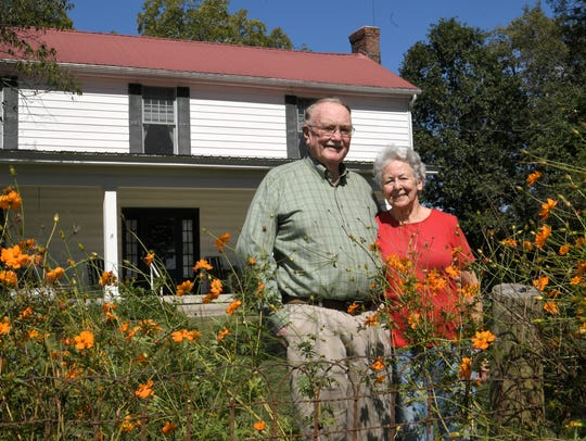 Bob and Charlene Ring live on Locust Guard Farm in