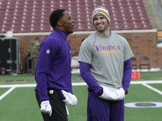 Teddy Bridgewater, Christian Ponder