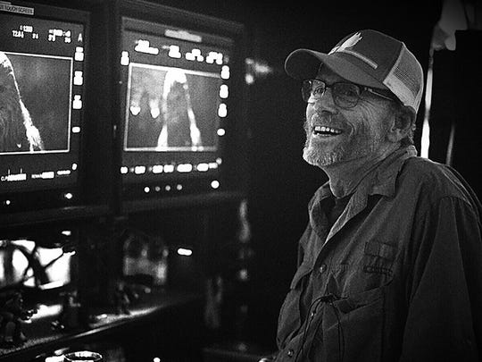 Director Ron Howard announced the title of 'Solo: A Star Wars Story' on the final day of production.