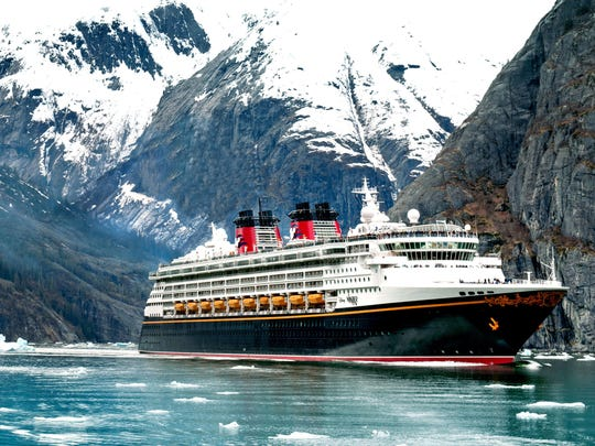 In the summer of 2019, Disney Cruise Line guests can set sail on the Disney Wonder to Alaska on variety of five-, seven- and nine-night itineraries departing from Vancouver, Canada, with stops in Juneau, Skagway, Ketchikan, Sitka, Icy Strait Point, Hubbard Glacier and Tracy Arm Fjord, Alaska, plus Victoria, Canada. (Kent Phillips, photographer)