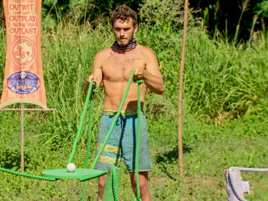 "Knoxville's Michael Yerger competes on ""Survivor: Ghost"