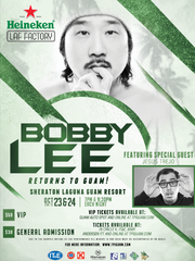 Bobby Lee to perform in Guam Oct. 23 and 24.