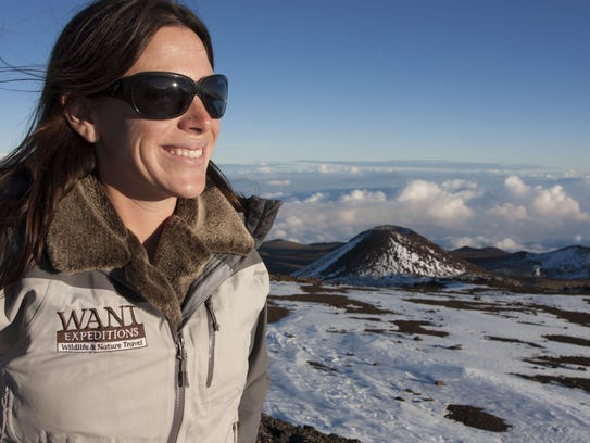 Traverse City's Jessica Posiask, who leads adventure