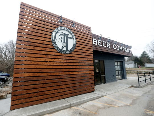 Tie & Timber Beer Company in the Rountree neighborhood opened April 14, 2018.
