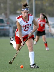 Amanda Strous played hockey for Shippensburg University