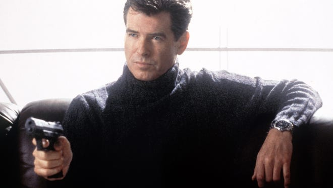 """""""Die Another Day,"""" starring Pierce Brosnan as James Bond, will run at 5 p.m. Thursday and again at 1 p.m. Friday."""