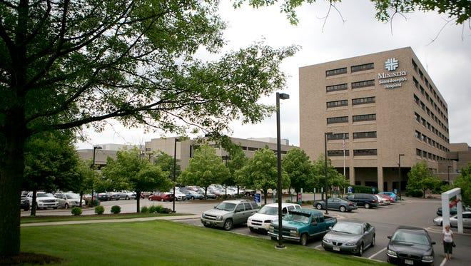 Ministry Saint Joseph's Hospital in Marshfield.