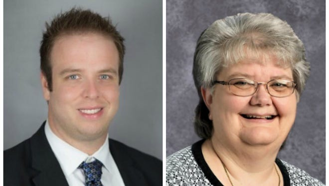 Mike Matthews and Karen Crouse tied in the election for DSEA president.