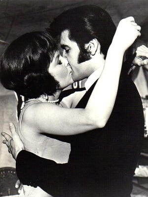 Marlyn Mason and Elvis Presley still from The Trouble with Girls