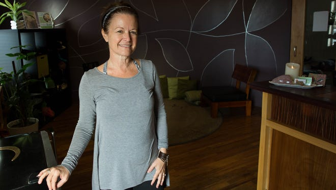 Coleen Boyd, owner of Downtown Desert Yoga, believes yoga can be tailored to all experience levels.