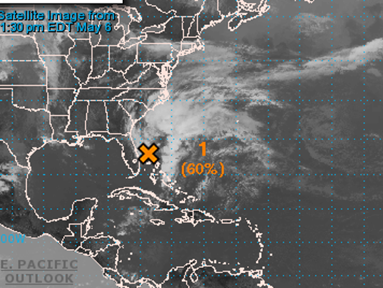 Tropical storm likely in Southeast by week's end