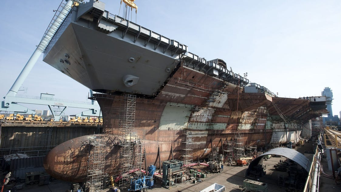 Ford Oasis Login >> Navy set to christen new carrier USS Gerald R. Ford