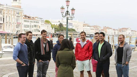Andi meets the boys in Venice.