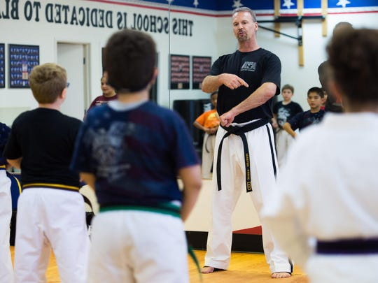 Keene, a master sixth-degree black belt, has owned