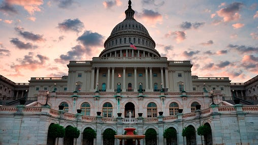 Legislators approved a fiscal package that would prevent a U.S. default next week.