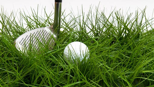 A pitching wedge.