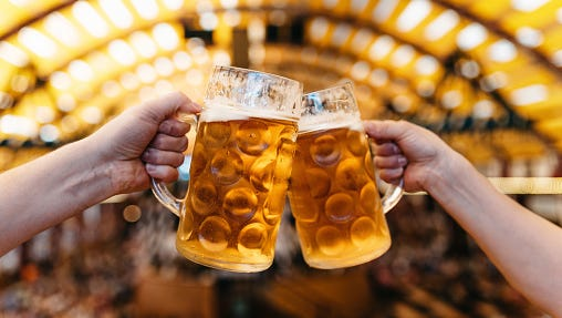 Drink beer to celebrate International Beer Day.