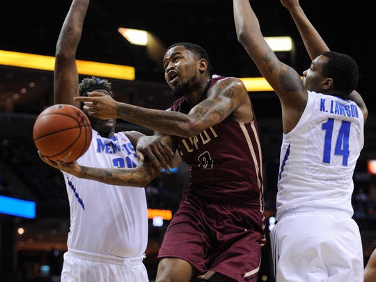 Darell Combs leads IUPUI from the point guard spot for the second straight season.