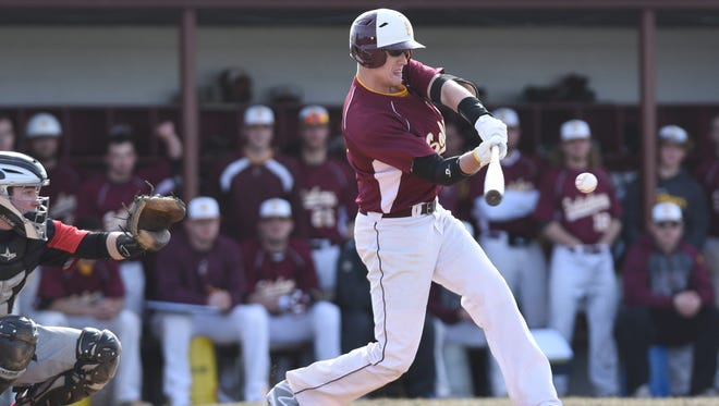St. Mark's graduate Tyler Hrycak leads Salisbury University with six homers.