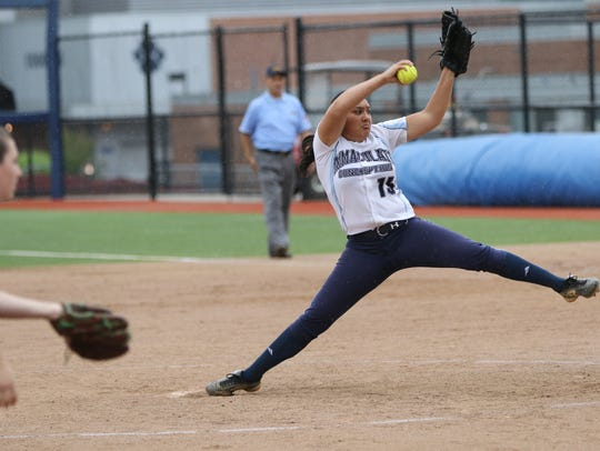 Caylee English has pitched well for Immaculate Conception