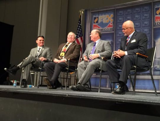 Detroit Economic Club luncheon featuring Macomb County