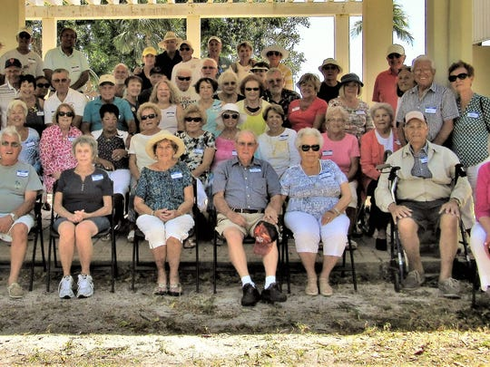 Mackle Park played host for the Bocce picnic to end the season for the Italian American Society of Marco Island. The group gathered to take a picture after having lunch catered by Kretch's Restaurant and listening and dancing to music and playing some fun bocce.