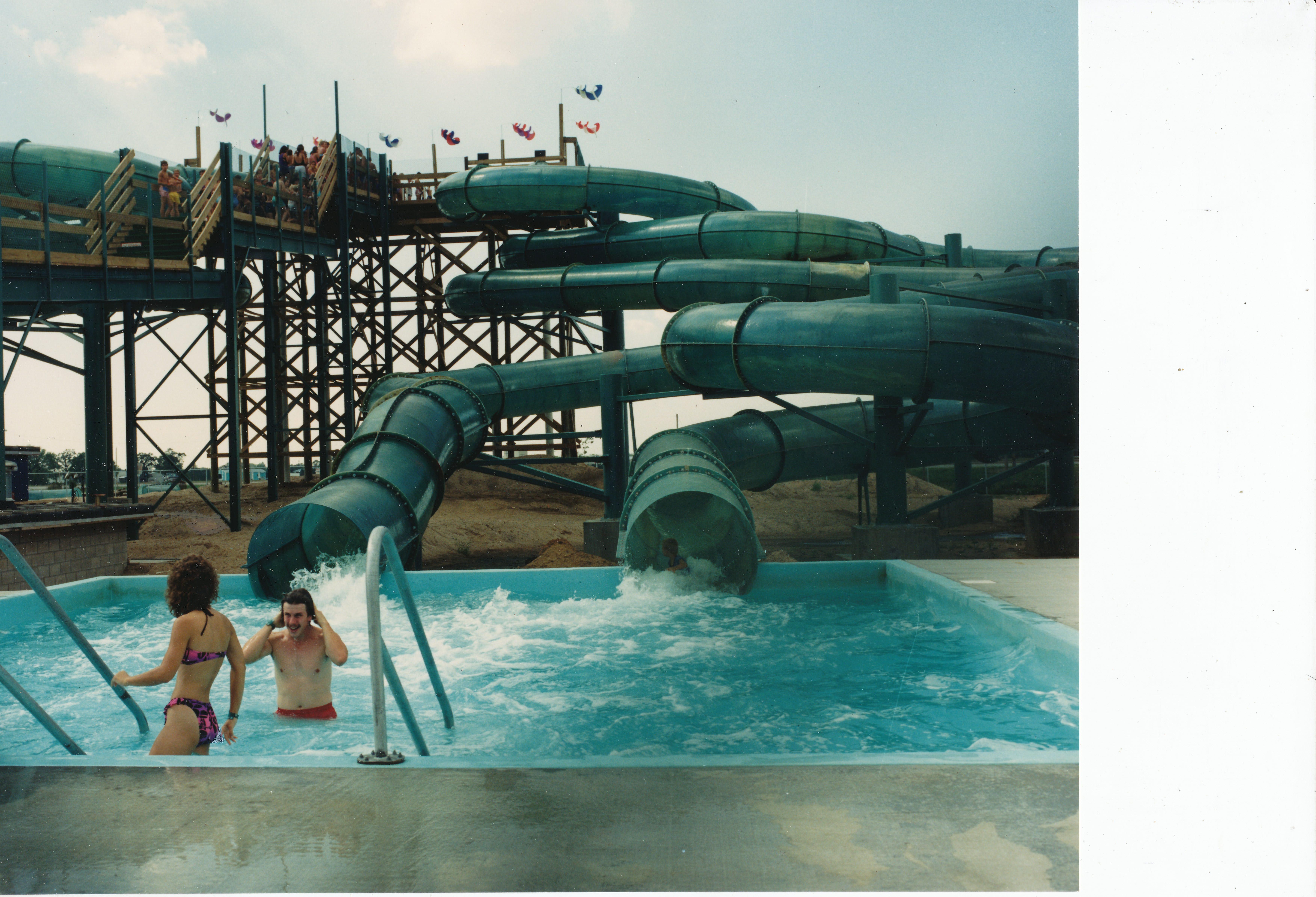 Rainbow falls water park plover wi