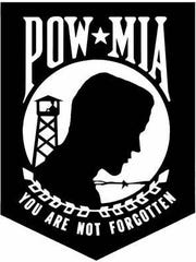 The annual POW/MIA Remembrance Day will be at the plaza