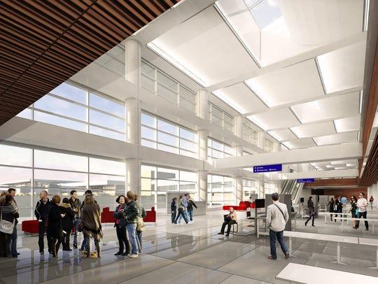 Rendering of Phoenix Sky Harbor International Airport's