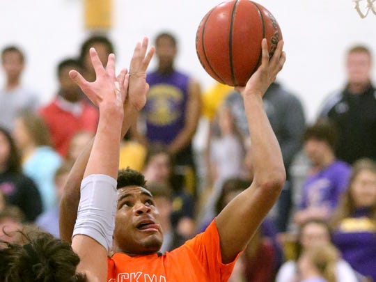Blackman's Cedriontis Wilson (1) was named to The Daily