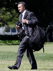 ORG XMIT: OTKCD White House photographer Pete Souza