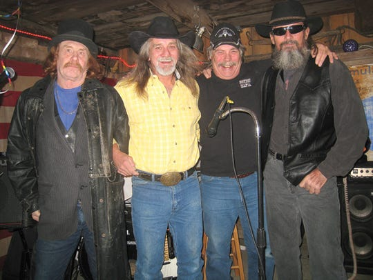 The Cowboy Mafia band  performs Saturday night at 7