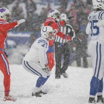 Doyel: Chuck Pagano brain-freeze costs Colts chance to beat Bills in blizzard