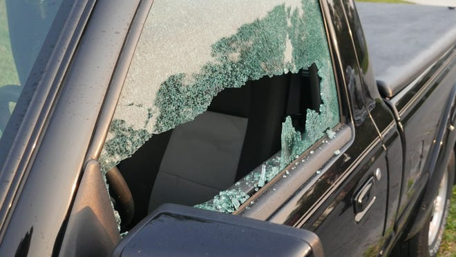 Port St. Lucie police are investigating several incidents in which windows were broken on vehicles throughout the city early Tuesday, May 23, 2017.