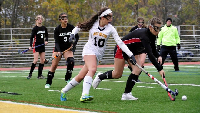 Senior Danielle Dellapi and five of her West Milford High School teammates earned First and Second Team All-Passaic County honors.